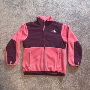 The North Face Fleece Zip Up Jacket